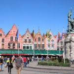 Brügge (B) – der Marktplatz