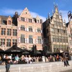 Gent (B) – Gildehäuser am Graslei