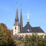 """Luxemburg (L) – Kathedrale """"Unserer Lieben Frau"""""""
