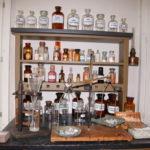 Gießen (D) – Liebig-Museum – Arbeitsplatz des Chemikers