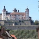 Würzburg – Blick auf die Festung Marienberg
