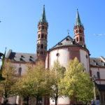Würzburg – Der Dom von hinten