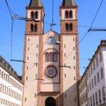 Würzburg – Der Dom von vorne