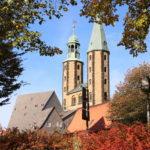 Goslar – Blick zur Marktkirche St. Cosmas und Damian