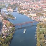 Rundflug mit Johnny – Weser in Hameln