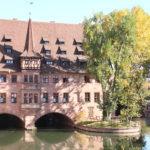 Nürnberg – Die Pegnitz in der Altstadt