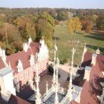 Bad Muskau – Blick vom Schlossturm in den Fürst-Pückler-Park