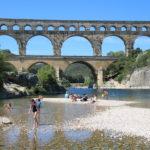 Vers-Pont-du-Gard (F) – Der Pont du Gard (römisches Aquädukt)