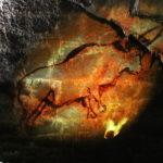 Han-sur-Lesse (B) – Lasershow in der Tropfsteinhöhle