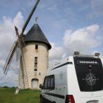 Schöner Stellplatz 60 km vor Paris