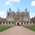 Chambord (F) – Das Château vom Garten aus gesehen