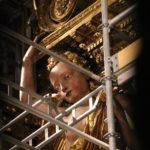 Santiago de Compostela (E) – In der Kathedrale war leider alles eingerüstet