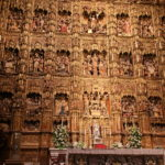 Sevilla (E) – In der Kathedrale von Sevilla – der Hauptaltar
