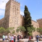 Sevilla (E) – Der Alcázar von Sevilla (mittelalterliche Königspalast)