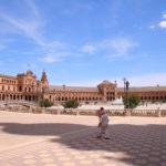 Sevilla (E) – Die Plaza de España (berühmter Platz der Stadt)