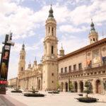 Saragossa (E) –  Plaza de Nuestra Señora del Pilar (Platz vor der Basilika)