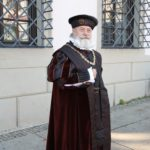 """Augsburg (D) – """"Jakob Fugger"""" vor dem Rathaus"""