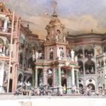 Salzburg (A) – Schloss Hellbrunn – (Wasserspiele: vom Wasser angetriebene bewegliche Figuren)