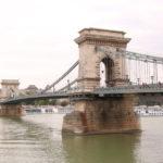 Budapest (H) – Die Kettenbrücke über die Donau