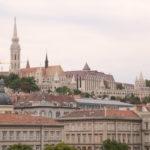 Budapest (H) – Blick zur Fischerbastei von der Kettenbrücke