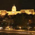 Budapest (H) – Der Burgpalast bei Nacht