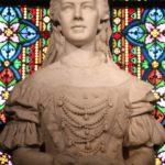 Budapest (H) – Statue von Königin Elisabeth in der Matthiaskirche