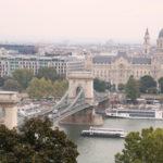 Budapest (H) – Blick vom Burgpalast über die Stadt