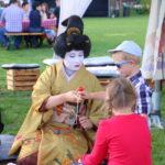 Ślęza (PL) –  Kinderbeschäftigung im Schlosspark