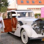 Ślęza (PL) –  Ein Rolls-Royce für das Hochzeitspaar
