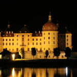 Moritzburg (D) – Das Schloss Moritzburg bei Nacht
