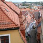 Meißen (D) – Blick vom Burgberg über die Dächer der Altstadt