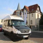 Magdeburg (D) – Abfahrt vor unserem Firmensitz