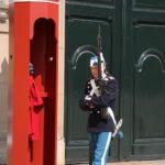 Kopenhagen (DK) – Wache vor Schloss Amalienborg