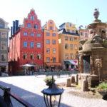Stockholm (S) – Stortorget (reizvoller Hauptplatz in der Altstadt Gamla stan)