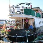Stockholm (S) –  ein schönes Hausboot