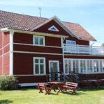 Fågelsjö Gryssjövägen (S) – Hier wohnen Bekannte aus unserem Heimatort und betreiben ein Café