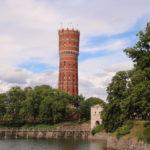 Kalmar (S) – Der alte Wasserturm in Kalmar beherbergt heute attraktive Wohnungen