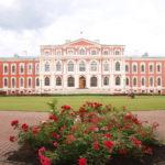 Jelgava (Mitau) (LV) – Das Schloss Jelgava – Ansicht im Innenhof