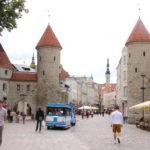 Tallinn (EST) – Die Lehmpforte in der Stadtmauer