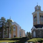Kerimäki (FIN) – Die Kirche von Kerimäki (die größte Holzkirche der Welt)