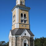 Kerimäki (FIN) – Der Glockenturm der Kirche von Kerimäki