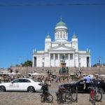 Helsinki (FIN) – Der Dom zu Helsinki auf dem Senatsplatz