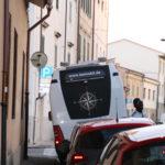 Pisa (I) – Nicht nur der Turm steht schief, auch das Isemobil
