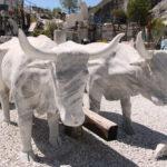 Carrara (I) –  In den Steinbrüchen des weißen Carrara-Marmors