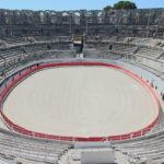 Arles (F) – Das Amphitheater von Arles mit Stierkampfarena
