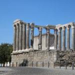 Évora (P) – Ruine eines römischen Tempels aus 1. Jh.