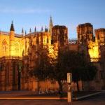 Batalha (P) – Das Kloster von Batalha am Abend