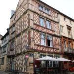 Rennes (F) – In der Altstadt mit ihren mittelalterlichen Fachwerkhäusern