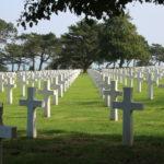 Colleville-sur-Mer (F) – 9.387 Gräber auf dem Amerikanischen Soldatenfriedhof
